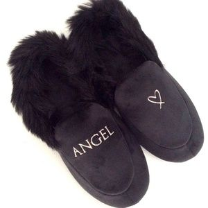 Victorias Secret VS ANGEL Velvet Slippers M (7-8)